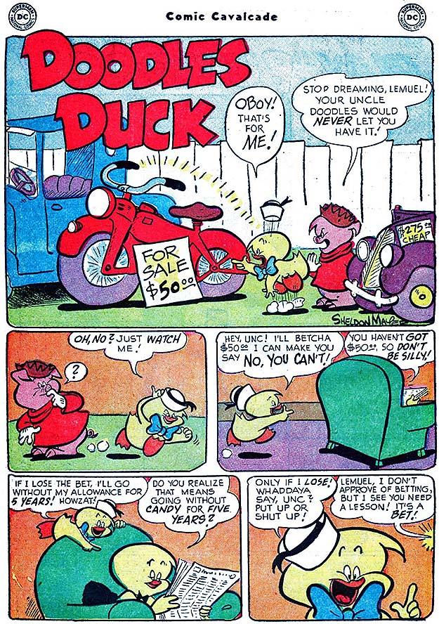 Comic Cavalcade 63 page