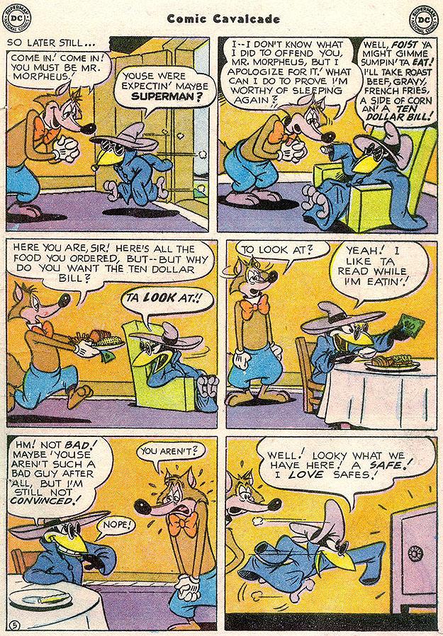 Comic Cavalcade 45 page