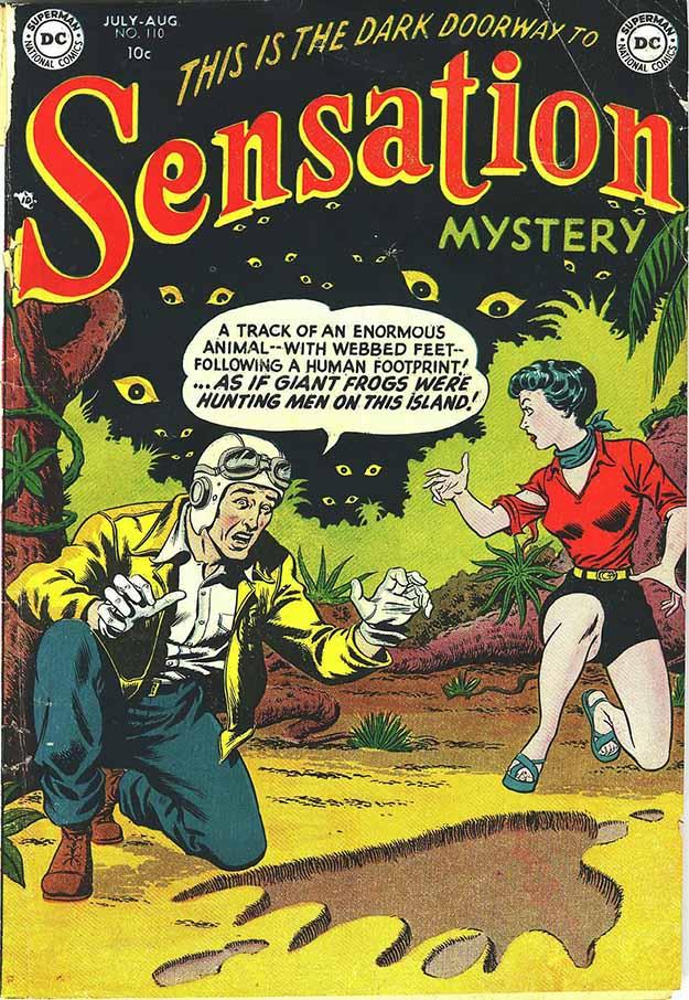 Sensation Mystery 110 cover