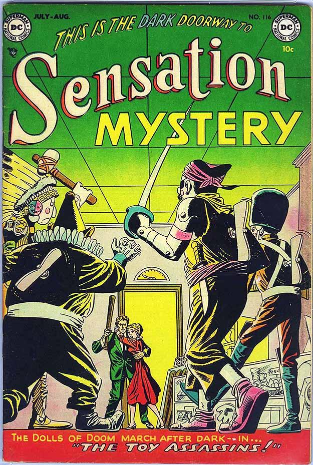 Sensation Mystery 116 cover