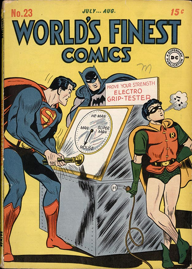 World's Finest 23 cover