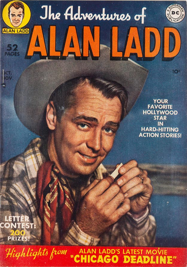 Alan Ladd 1 cover