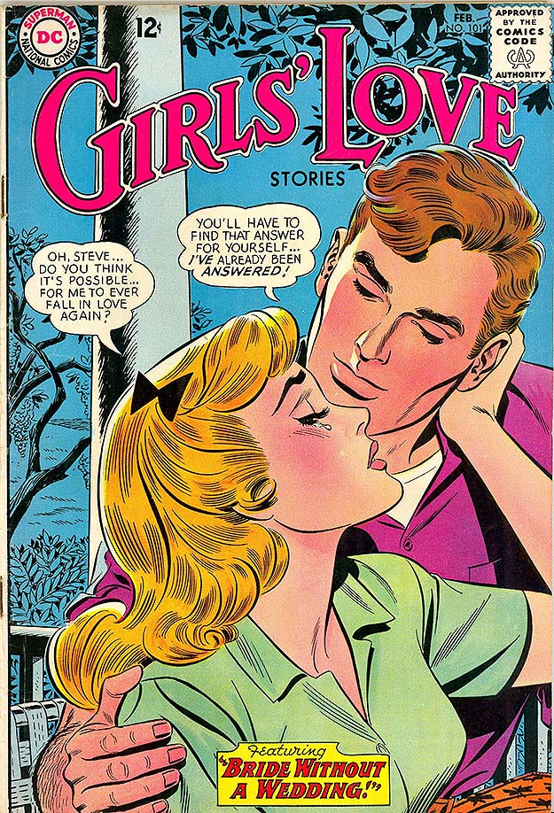 Girls' Love Stories 101 cover