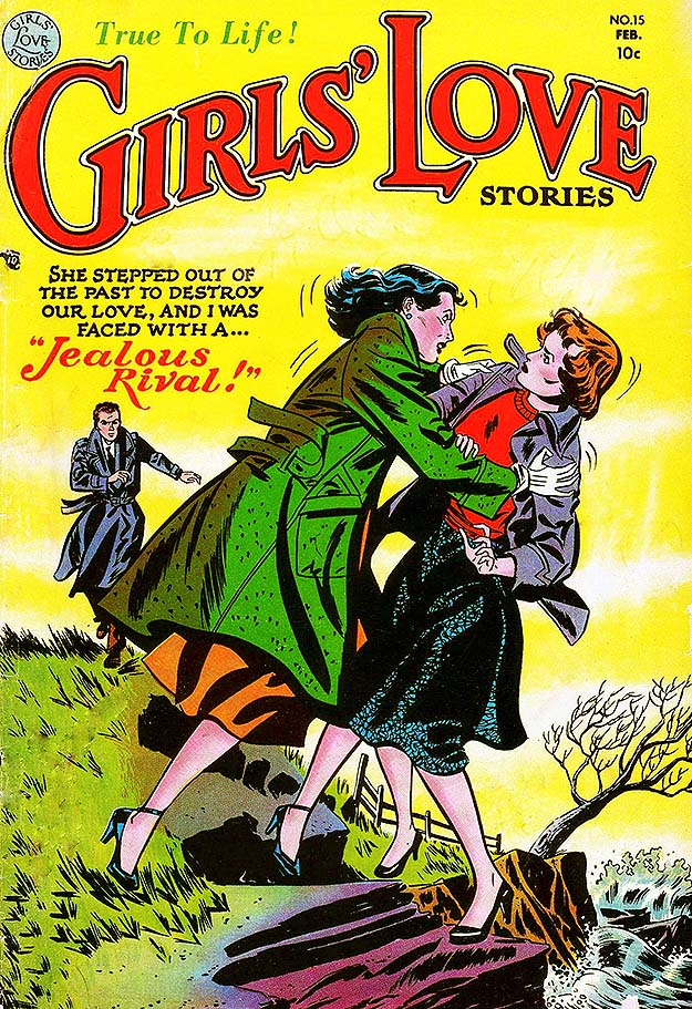 Girls Love Stories 15 cover