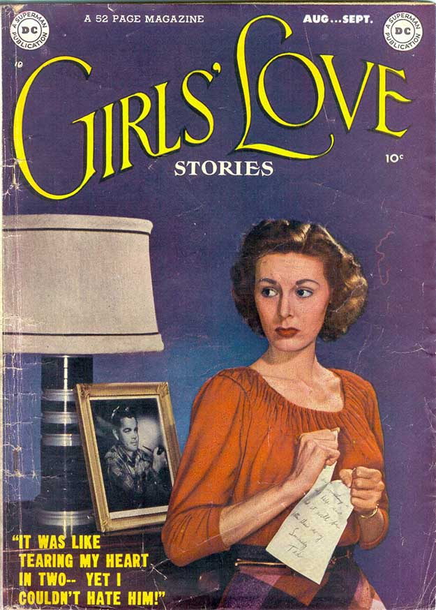 Girls' Love Stories 1 cover
