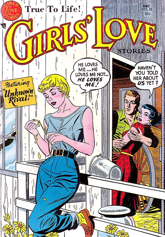 Girls' Love Stories 32 cover