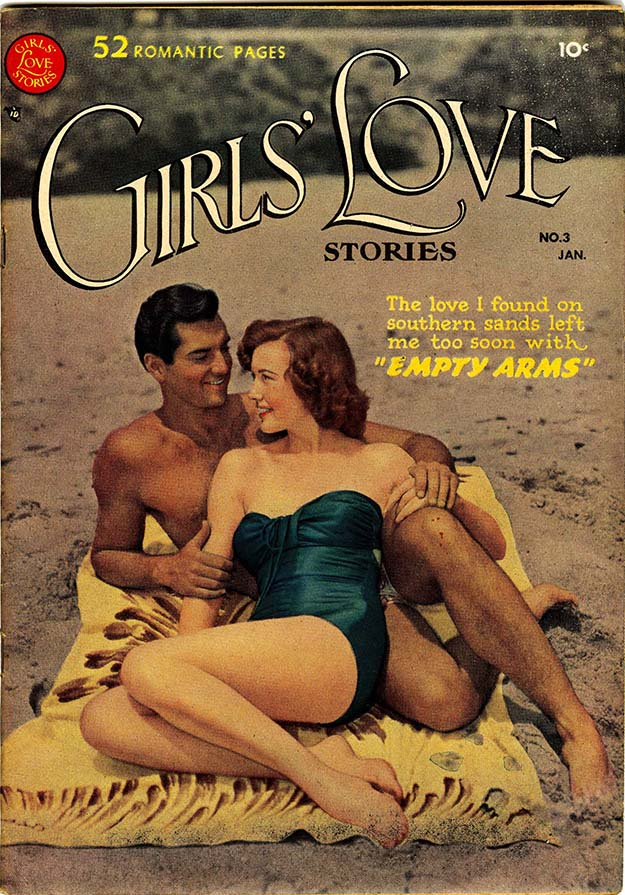 Girls' Love Stories 3 cover