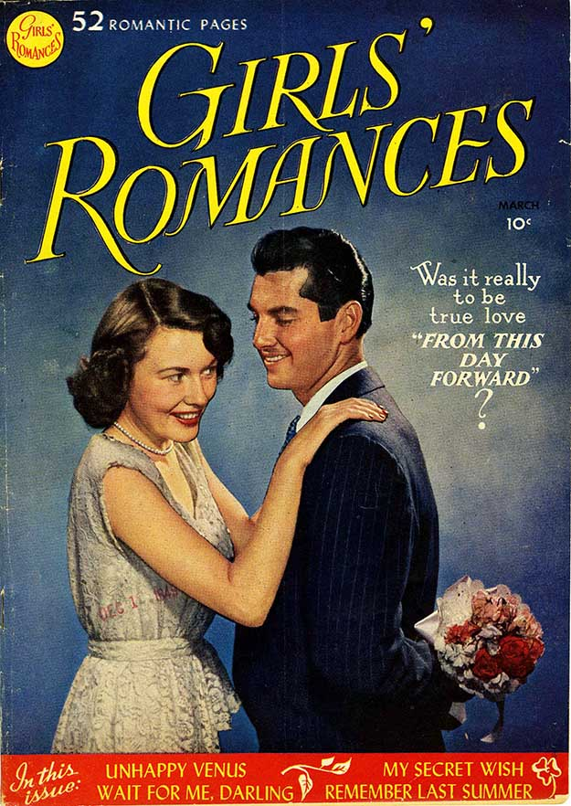 Girls' Romances 1 cover