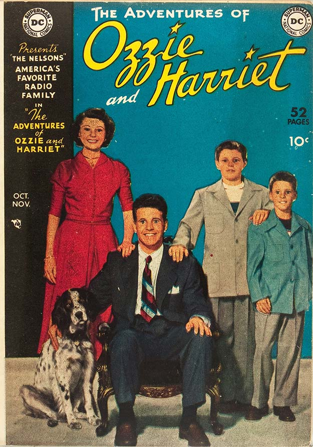 Ozzie & Harriet 1 cover