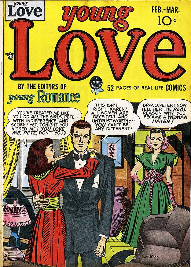 Young Love 1 cover