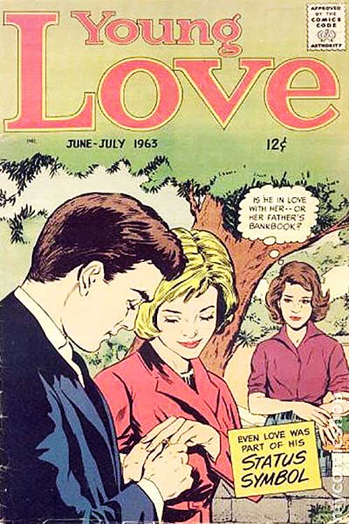 Young Love June 1963 cover
