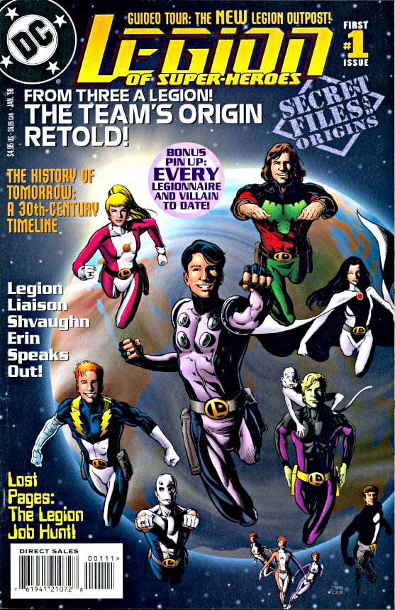Legion Secret Files cover