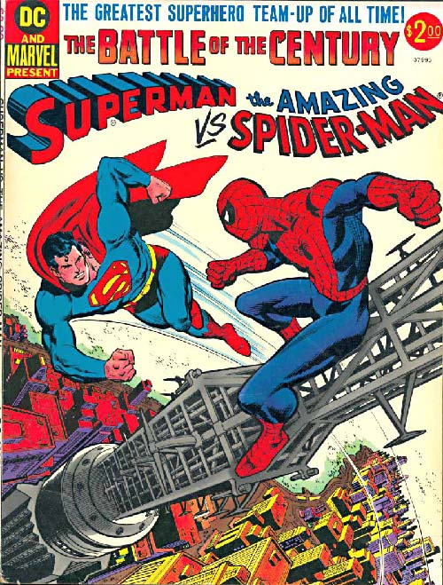 Superman Vs. Spider-man cover