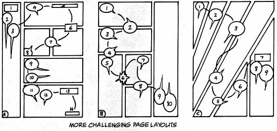 Challenging page layouts