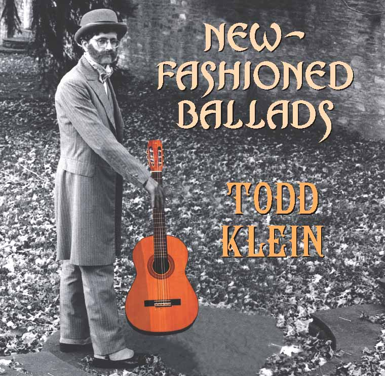 New Fashioned Ballads CD cover