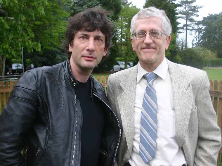 With Neil Gaiman