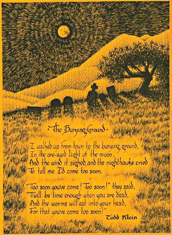 The Burying Ground poem
